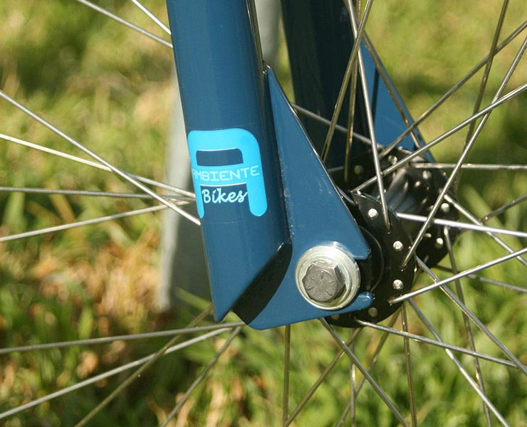"Ambiente Bikes Prospero 24"" BMX frame and 24"" Southforks"