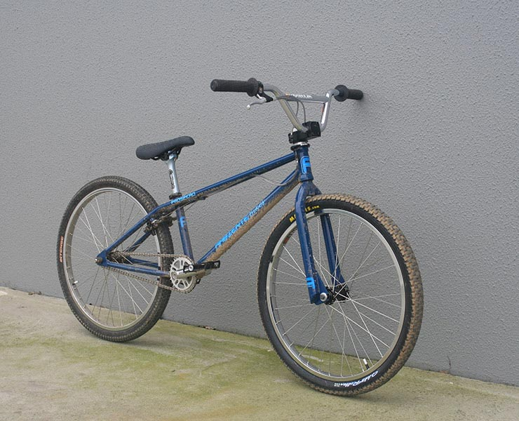 "Ambiente Bikes 24"" Twin Top Tube BMX Cruiser"